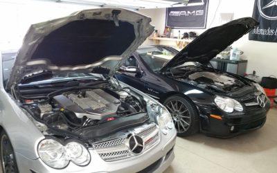SL55 AMG Mercedes-Benz (2003 Model) Kompressor ECU Tuning
