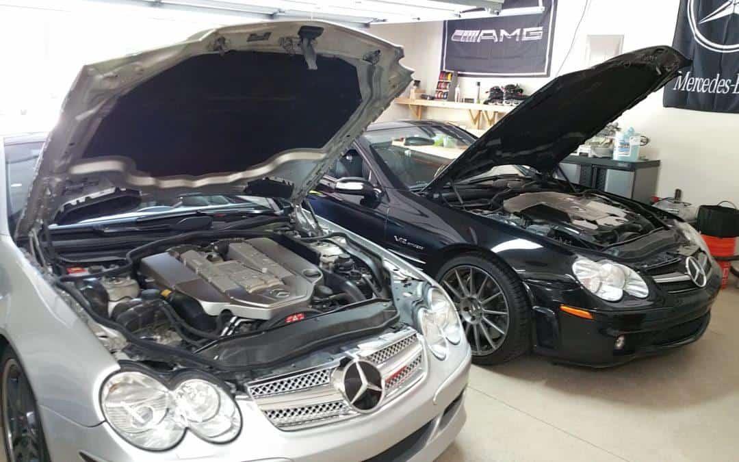 Mercedes tune sl55 amg raw power pressertech performance for Mercedes benz sl55 amg specs