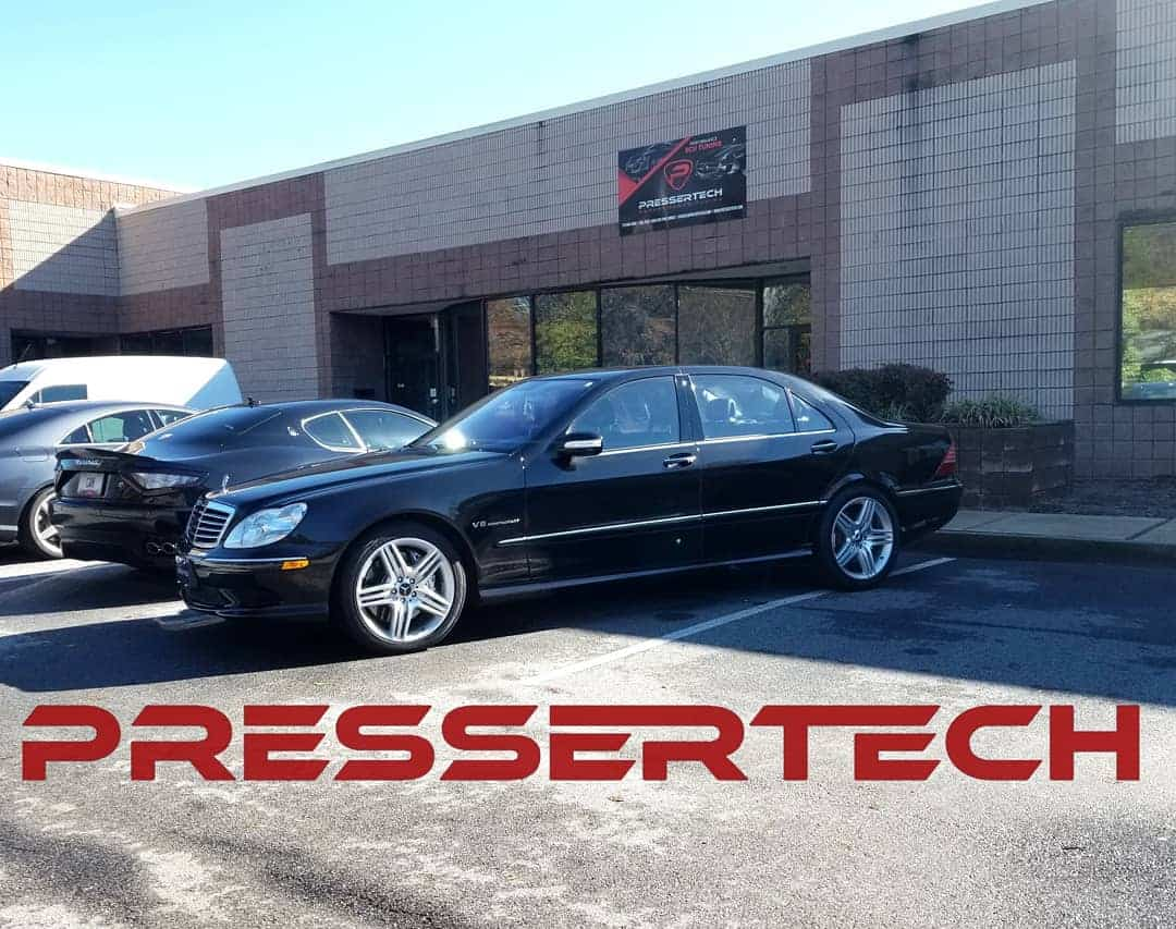 Performance Tuning a Mercedes S55